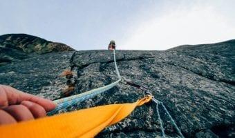 overcome fear in climbing