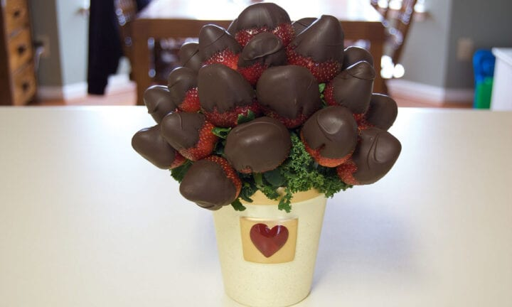 Chocolate Bouquet Christmas gift