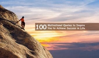 100 Motivational Quotes to Inspire You to Achieve Success in Life