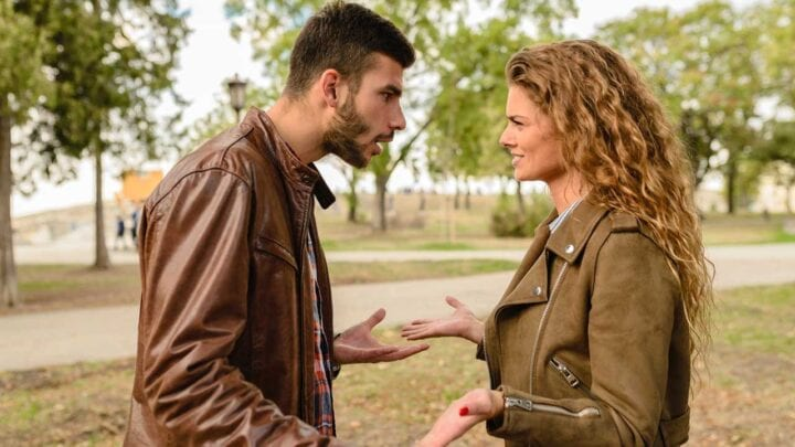 Arguing in relationship