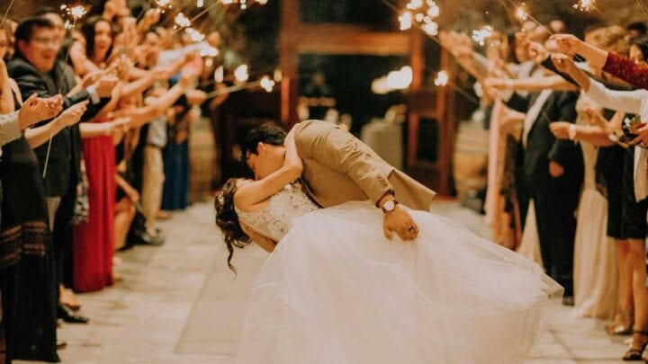 Happy wedding marriage
