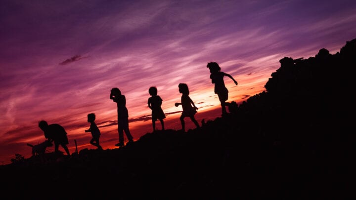 Beautiful life of children