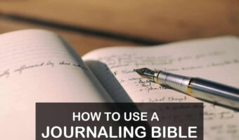 link to How to Use a Journaling Bible: My Scratch Journal Method How to Use a Journaling Bible